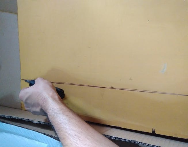 Cutting Plyboard