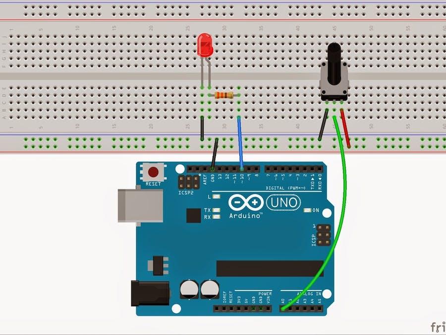 Potansiyometre Arduino