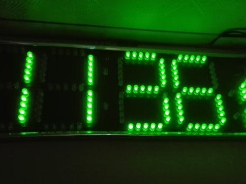 Arduino RTC LED Clock