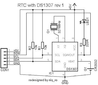 RTC Module circuit