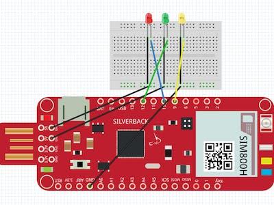 Traffic Light Simulator Using Your Surilli GSM