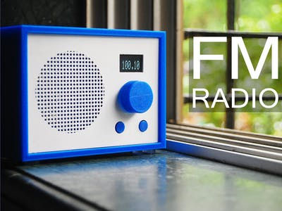 FM Radio Using Arduino and RDA8057M