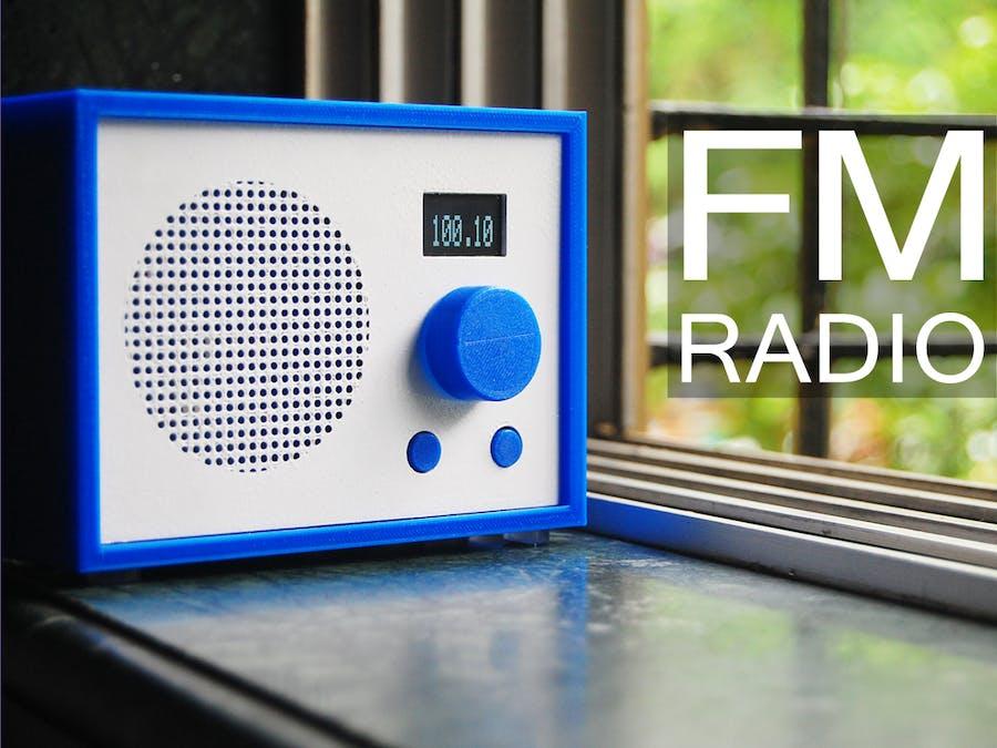 FM Radio Using Arduino and RDA8057M