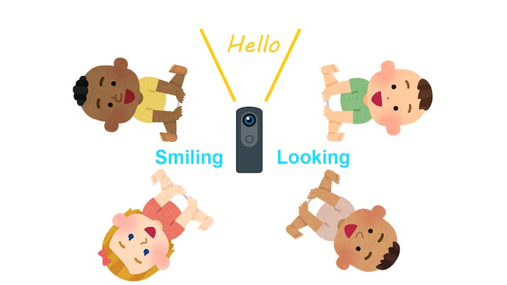 Make Smile Shutter(Realtime Voice Changer for Baby) by