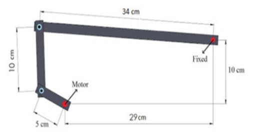 dimensions of the physical model