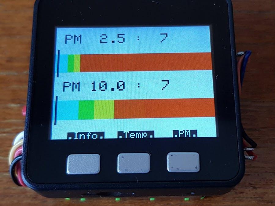 M5Stack PM2.5 Meter
