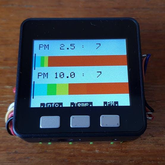 PM 2.5 & 10.0 Graph