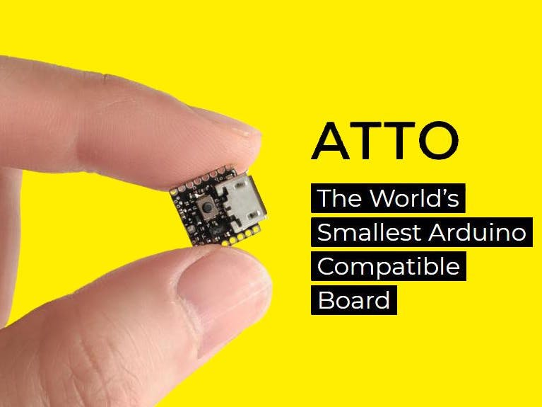 ATTO: The World's Smallest Arduino
