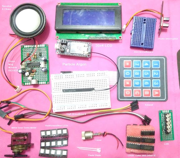Electrical/Electronics Components (missing ones)