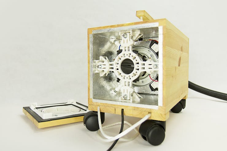 Tenok - DIY Vacuum Cleaner Made From Trash! - Hackster io