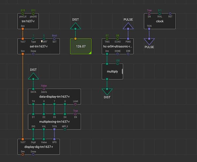 03-sonar-to-4digit-display