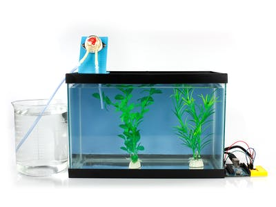 Aquarium Evaporation Top Off System