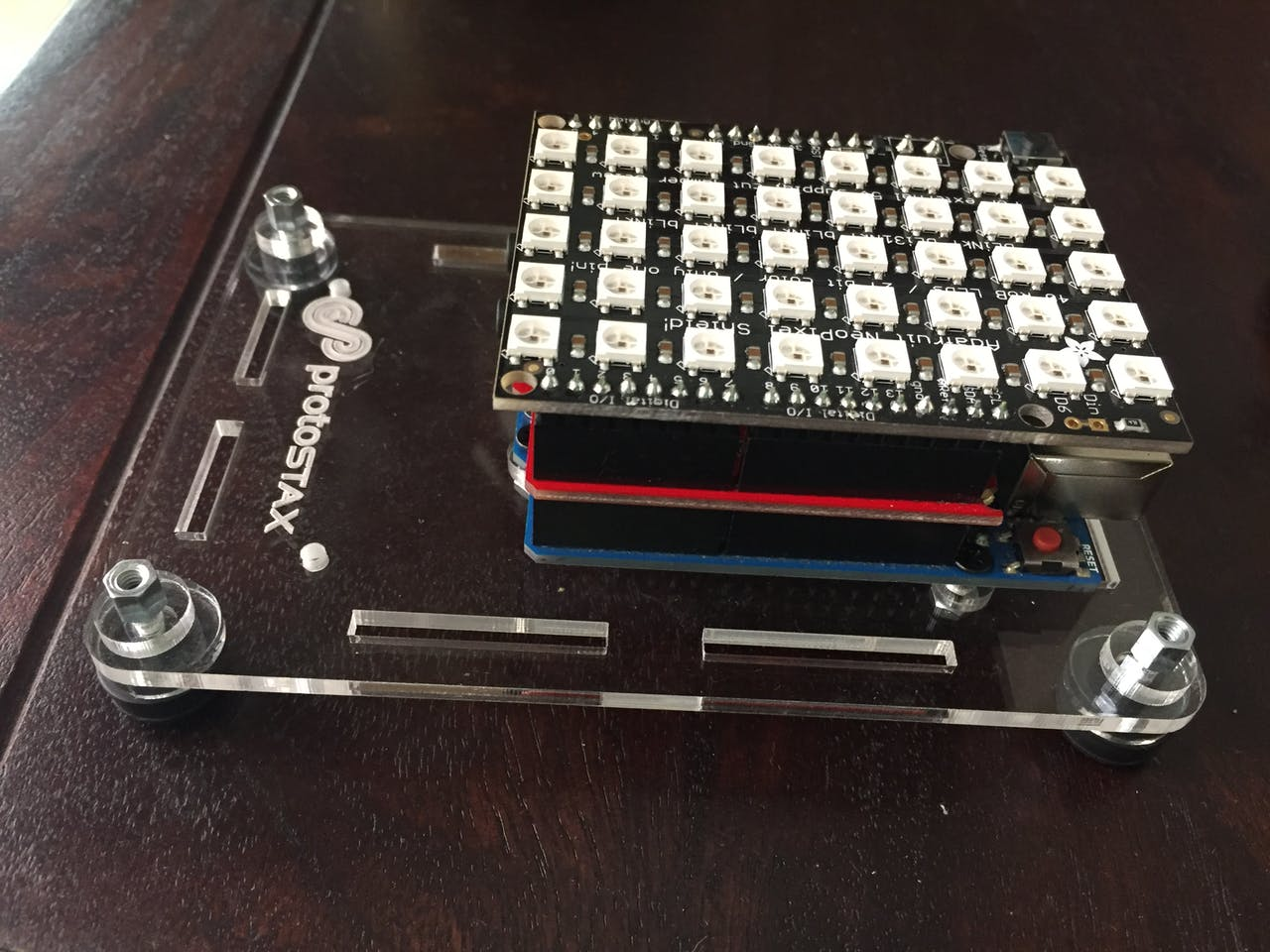 RGB Matrix Audio Visualizer with Arduino - Arduino Project Hub