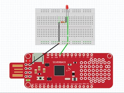 LED Blink Using Surilli Basic M0 and Arduino Web Editor