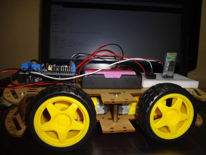 'Rain1' RC Car with Arduino