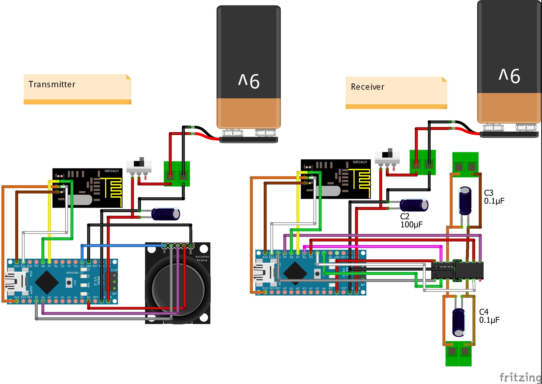 [SCHEMATICS_4JK]  Arduino Wireless Control Robot Car - Hackster.io | Wireless Car Diagram |  | Hackster.io