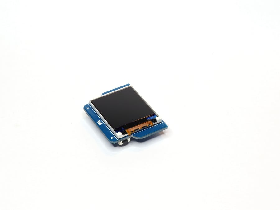 How to Use the TFT LCD Screen Module with Wia Dot One