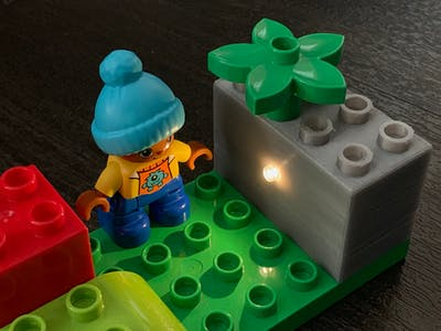Smart LEGO Duplo Brick
