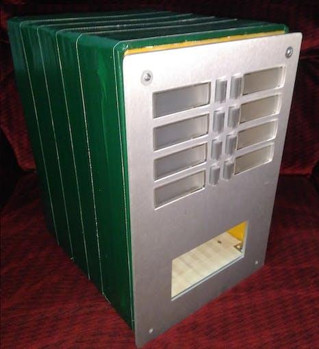 Smart Mail Box before Installing Electronics