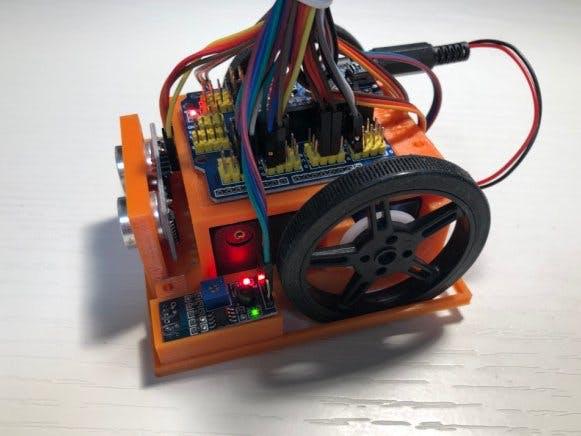 Construcción y Programación de RobotMinisumo