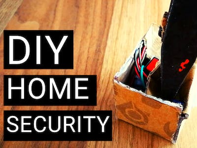 DIY Simple PIR Motion Home Security Notification System