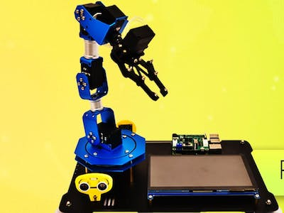 PiArm: The DIY Robotic Arm for Raspberry Pi