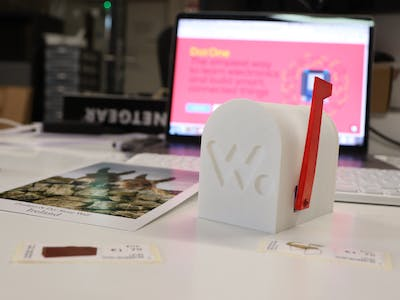 """You've Got Mail"" IoT E-Mailbox with Gmail Notification"