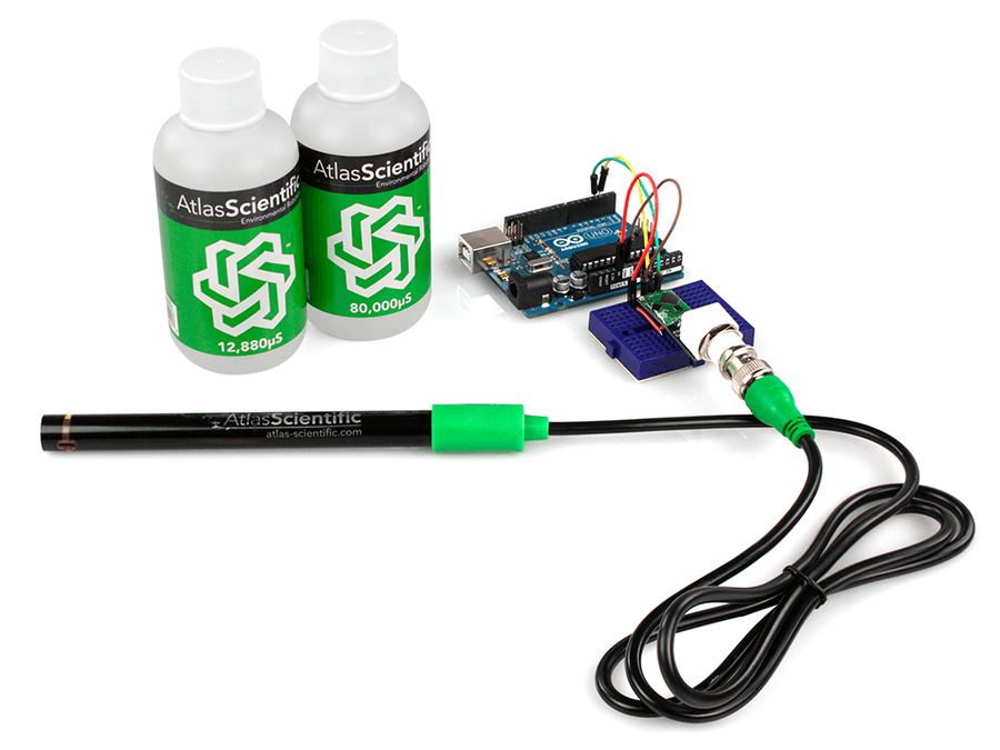 Arduino Salinity Sensor Calibration
