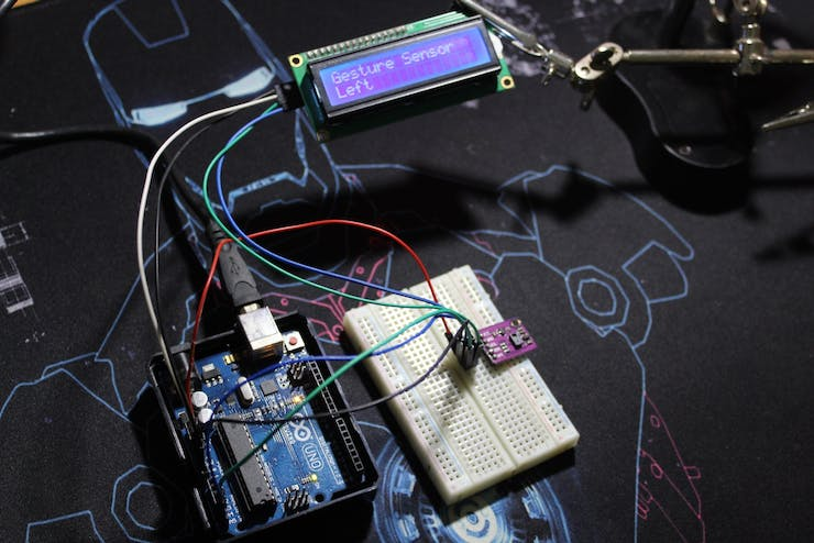Using the LCD