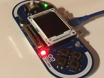 Esplora for beginners: working with the RGB LED