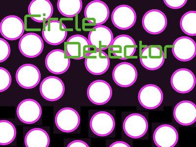 Ricoh Theta Circle Detector