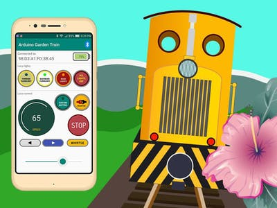 Android App for Garden Train