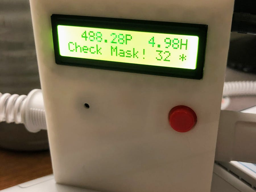 Digital Manometer/CPAP Machine Monitor