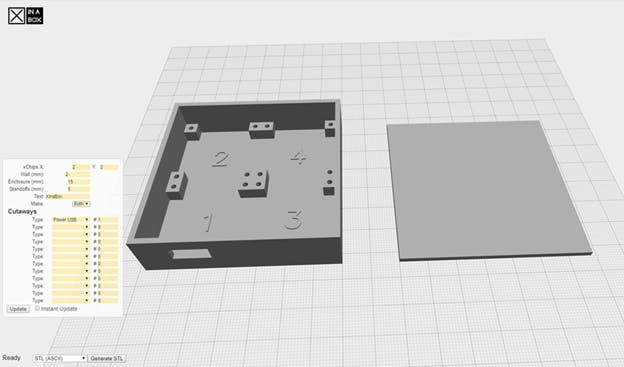 The XinaBox 3D enclosure design app (beta)