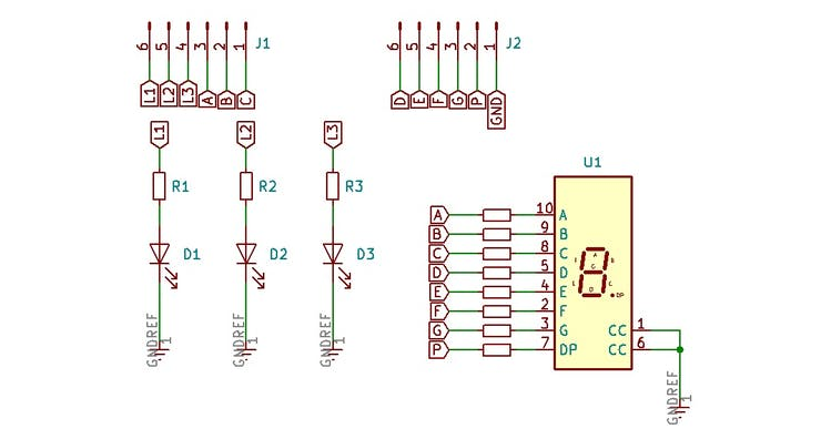 Figure 2 - Electronic Schematic.