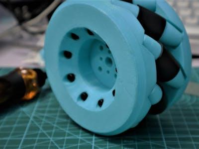 Make Your Own Mecanum Wheel