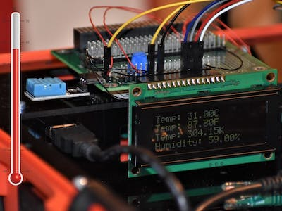 Displaying Temperature and Humidity on an LCD