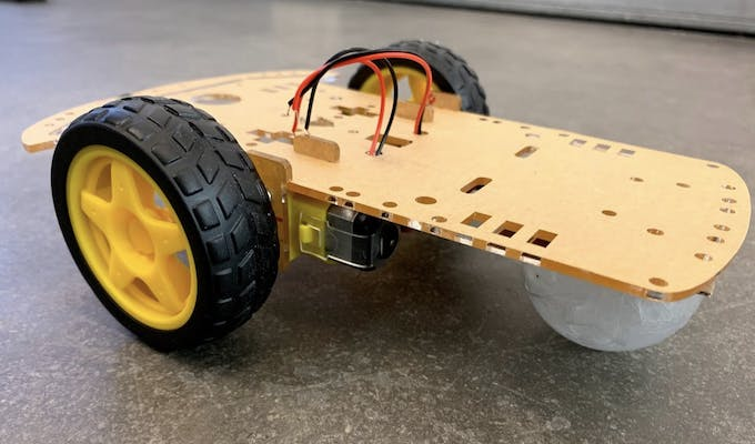 Assembled Car Chassis
