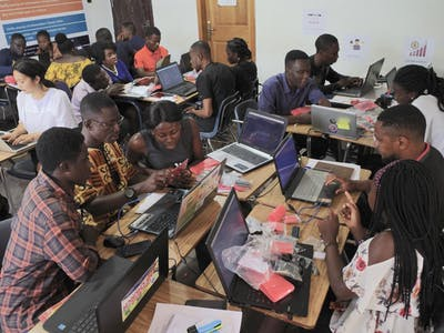 Kumasi Hive - Biomaker Touchscreen Buildathon