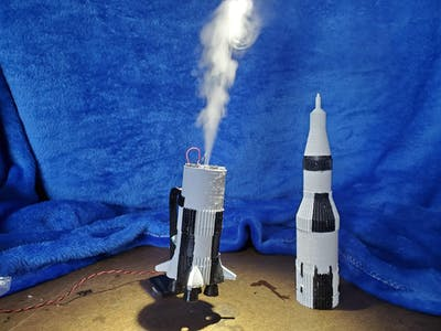 Saturn V Rocket Humidifier