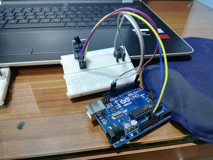 Sensor with Buzzer