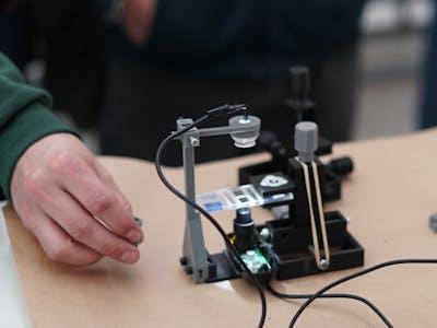 BrewerMicro – DIY microscope for counting yeast