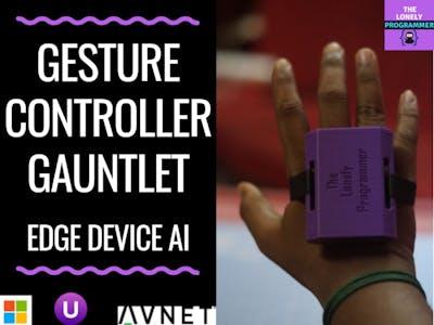 Gesture Controller Gauntlet