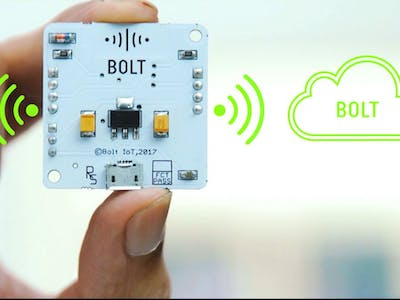 Monitoring of Temperature and Its Alert Using Bolt IoT