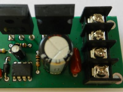 PWM DC Motor Driver Using Power MOSFETs