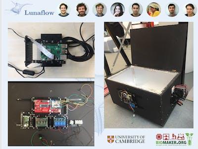 LunaFlow - Bioluminescent plankton for 3D flow visualisation
