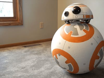 BB-8 Uses Omniwheels and BeagleBone® for Self-Balancing Head