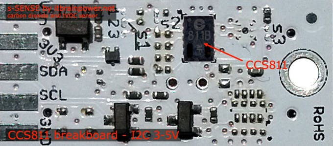 CCS811 breakout - top
