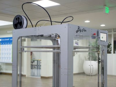 BigFDM: Open Source, Large Scale 3D Printer