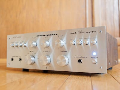 Marantz 1060 Amplifier Restoration